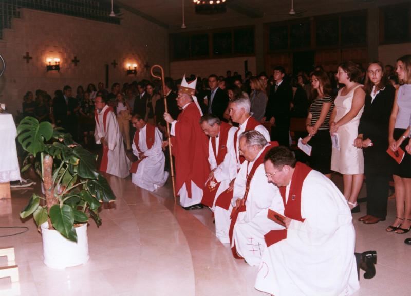 Los agustinos se hacen cargo de la parroquia de Santa Teresa