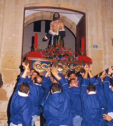 Primera salida procesional de la Hermandad Agustina