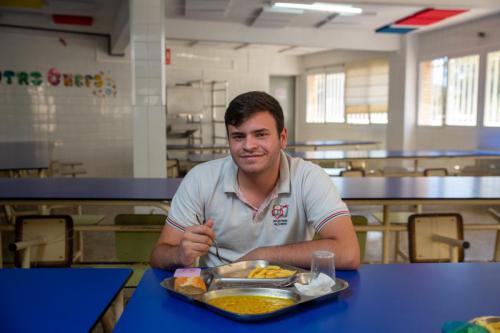 Comedor Primaria, Secundaria y Bachillerato