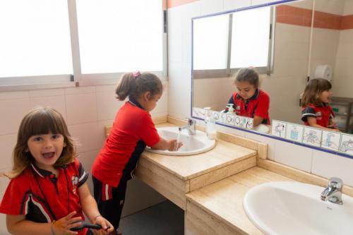 Baños en aulas