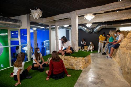 Salas croma y espacio coworking en La Roca
